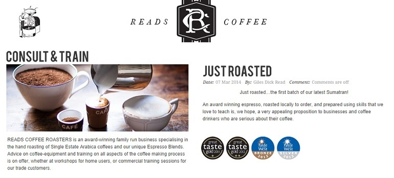 Reads Coffee Sherborne Discover how to make the perfect coffee, great day out