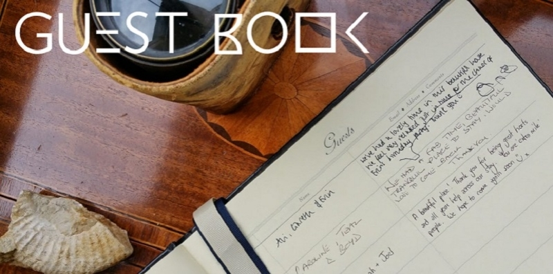 Read THE guest book