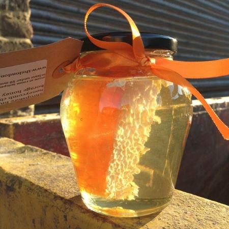 Honeycomb Urn