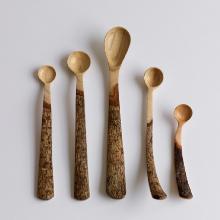 Wooden Spoons Bark