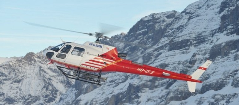 Helicopter Sightseeing | Crans-Montana