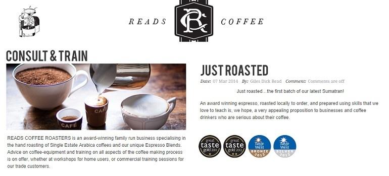 Reads Coffee | Sherborne
