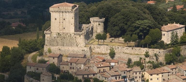 Sarteano Castle I Tuscany