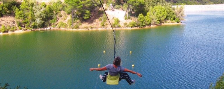 Acrobatic forest I South France