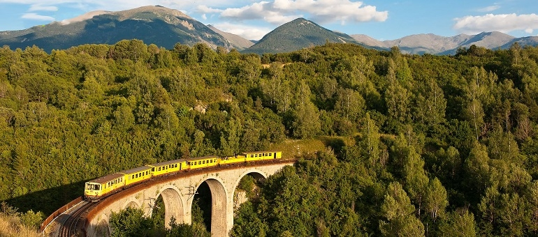 Train Journeys I South France