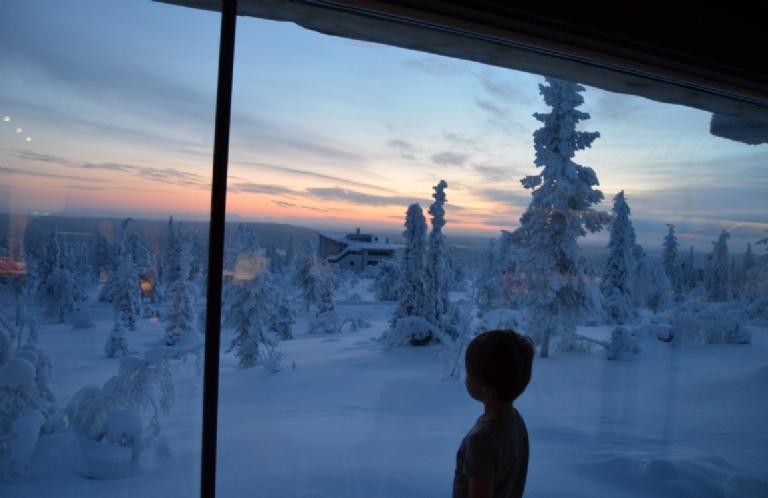 THE LEVI AURORA FINLAND