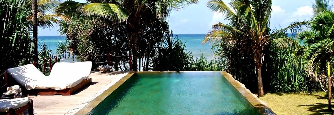THE BEACH VILLA  KENYA