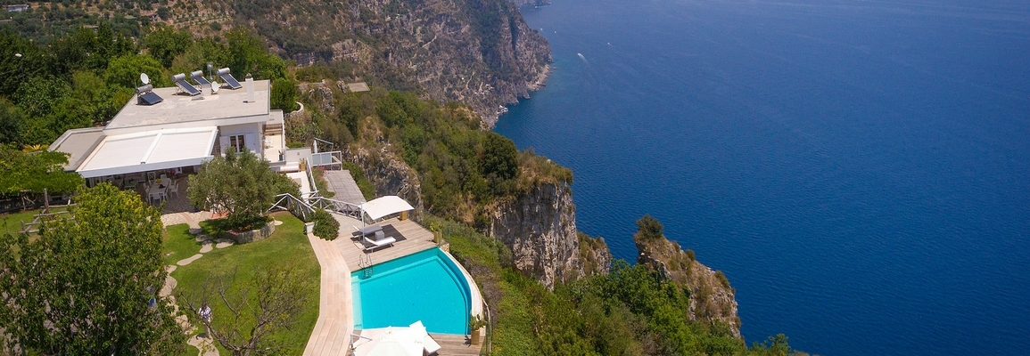 THE VILLA BELLA SABRINA ITALY. Amalfi coast.