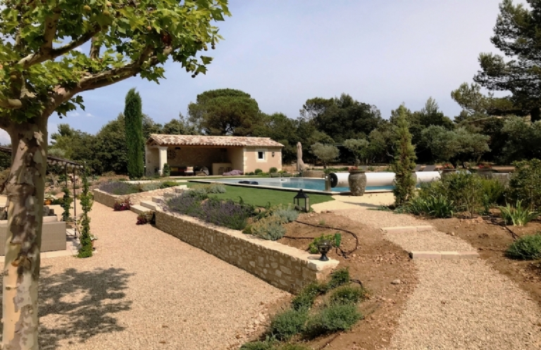 THE VILLA  GARRIGUES  France. Eygalieres. St Remy de Provence