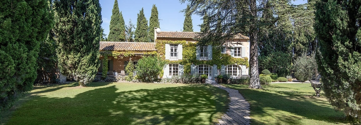 THE VILLA MAS BLANC France. Saint-Rémy-de-Provence