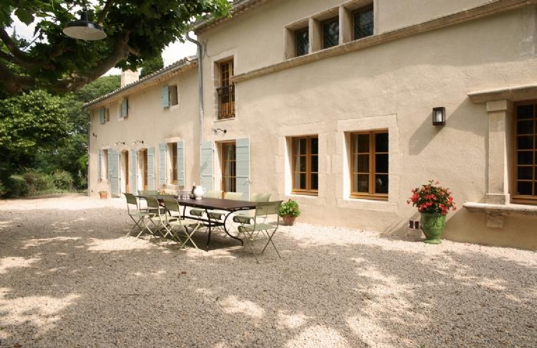 THE VILLA MasBELLILE FRANCE. St Remy de Provence